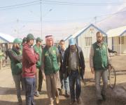 فريق مركز الملك سلمان للإغاثة يزور مخيمي الزعتري والأزرق
