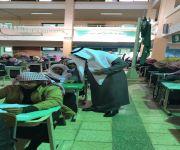 مدير تعليم الاسياح ومساعده في زيارة تفقدية لثانوية قبة