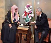 بالصور .. وزير الشؤون الإسلامية يصل القاهرة الليلة لرئاسة وفد المملكة إلى مؤتمر الأزهر العالمي لنصرة القدس