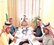 اللجنة الفنية بمجلس بلدي القصيم تعقد إجتماعها الدوري رقم (13/24)