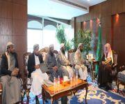 خلال استقباله وزير الدولة اليمني وزير الشؤون الإسلامية يؤكد على دور العلماء والدعاة في حماية الشعب اليمني من خطر الحوثيين
