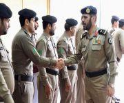 اللواء الطالب يتفقد شرطة محافظة الأسياح
