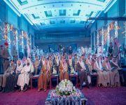 """أمير القصيم يكرم 78 طالباً متفوقاً بجائزة """"العبودي"""" للتفوق العلمي بالمذنب"""