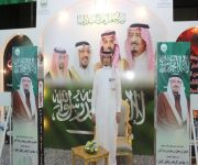 تكريم احمد بن ناقي من سعادة اللواء علي الغبين مساعد رئيس جهاز أمن الدولة بالقصيم