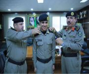 ترقية ضابط ميدان مرور القصيم العبيد الى ملازم أول
