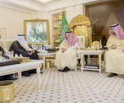 أمير القصيم يلتقي معالي رئيس هيئة الرقابة والتحقيق
