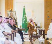 نائب أمير القصيم يستقبل مدير فرع الهيئة العامة للأرصاد وحماية البيئة
