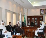 الشيخ المشيقح يلتقي طلاب جامعة القصيم بلقاء مفتوح