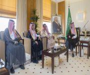 نائب أمير القصيم يستقبل رئيس وأعضاء لجنة شباب الأعمال بغرفة المنطقة