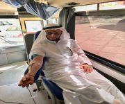 مديرية مياه القصيم تنظم لمنسوبيها حملة للتبرع بالدم