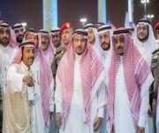 """الأمير فيصل بن مشعل يزور مهرجان """"كلاسيك القصيم"""" ويكرم الداعمين"""