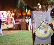 الفعالية جمعت 4 شقيقات: مهرجان الأسياح يستغل الطبيعة لدعم الفتيات نحو الإبداع بالرسم المباشر وإبراز مواهبهن