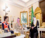 الأمير فيصل بن مشعل يستقبل مدير فرع هيئة الهلال الأحمر السعودي بالقصيم