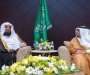 أمير منطقة القصيم يستقبل الرئيس العام لهيئة الأمر بالمعروف والنهي عن المنكر