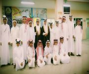 ابتدائية المحمدية بمحافظة الرس تحتفل بتخريج طلابها من الصف السادس للمرحلة المتوسطة