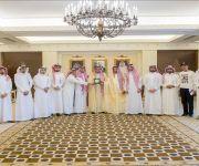 الأمير فيصل بن مشعل يستقبل عدداً من أعضاء مجلس شباب القصيم
