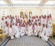 أمير القصيم يكرم 79 شاباً من أعضاء مجلس شباب المنطقة لمشاركاتهم الفعالة في عدد من المحافل