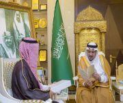 أمير القصيم يستقبل مدير فرع مؤسسة التقاعد بالمنطقة