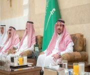 أمير القصيم يقيم مأدبة إفطار للقطاعات العسكرية والنيابة العامة