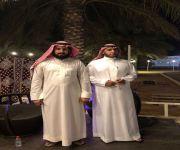 الشاب العصامي الفضل يزور حدائق الفافا ويحفز الشباب السعودي العامل بها