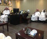 """قدم التهنئة ل""""البجيدي"""" بالتجديد : وفد من أهالي البكيرية يزور مستشفى البكيرية العام"""