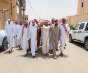 وكيل إمارة القصيم يؤدي الصلاة على الشهيد ملحان الحربي بمركز قبه