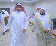 الدكتور البجيدي مدير مستشفى البكيرية يقيم إفطار جماعي