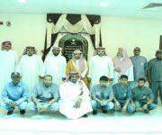 الشيخ المجماج يزور إدارة المساجد والدعوة والإرشاد بعنيزة