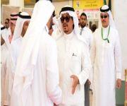 وزير الحج يتفقد مكتب الوكلاء الموحد بمطار جدة