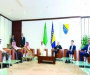 وزير الشؤون المدنية البوسني: الملك سلمان أعاد المهجرين وأسس البنية التحتية