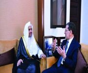 رئيس الحكومة المغربية يبحث مع د. العيسى دعم الخطاب الوسطي ومكافحة التطرف