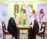 أمير القصيم يشهد توقيع مذكرة تفاهم لتوطين العقود بخدمات المياه