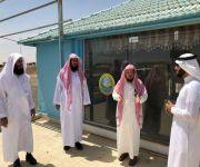 الشيخ النوشان يلتقي في منسوبي الهيئة بمدينة الحجاج