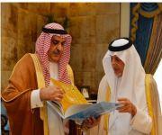 «أمير مكة» يتسلم تقرير فرع «وزارة الإعلام» بالمنطقة