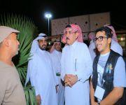 """محافظ البكيرية يزور فعاليات """"سعودي انطلق"""" ويشيد بتنوعه وتميزه"""