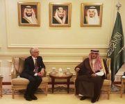 وزير الخارجية يستقبل وكيل الأمين العام للأمم المتحدة للشؤون الإنسانية