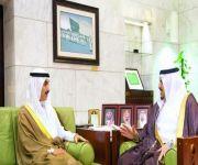 أمير الرياض بالنيابة يستقبل السفير الكويتي