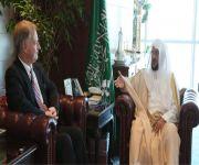 وزير الشؤون الإسلامية يستقبل القائم بأعمال السفارة الأمريكية بالرياض