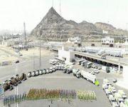 أمانة العاصمة المقدسة تجهز أسطول ضخم من آليات المتطورة لتأمين صحة وسلامة ضيوف الرحمن