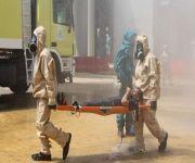 تمرينات فرضية لمواجهة حوادث المواد الخطرة خلال موسم الحج