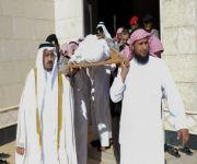 وكيل إمارة القصيم يؤدي الصلاة على شهيد الواجب خالد الحربي
