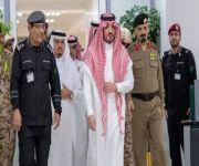 وزير الداخلية يقف على سير العمل بمركز العمليات الأمنية الموحدة 911 بمنطقة مكة المكرمة