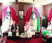 عبدالعزيز الفيصل يستقبل وفداً أفغانياً ومسؤولة أولمبية