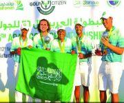 منتخب الغولف في بريطانيا استعداداً لبطولة أيزينهاور العالمية