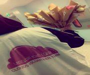 فريق مجموعة غيم التطوعية للفتيات يزور مرضى مستشفى الرس