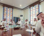 لجنة الإستقدام بغرفة القصيم تعقد إجتماعاً مع مدير الاشراف على توظيف العمالة ب عمل القصيم لبحث مواضيع هامة