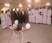 بحضور رئيس المركز مدرسة الأمير فهد الفيصل بمركز البطين تحتفل بالوطن