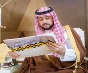 نائب أمير القصيم يستقبل محافظ المذنب وأعضاء لجنة التنمية السياحية
