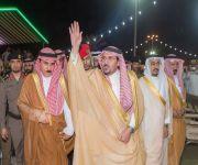 أمير القصيم يرعى اليوم الذهبي لمهرجان الرمان الثاني بمركز الشيحية