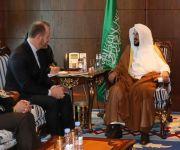 خلال لقاء وزير الشؤون الإسلامية له بالرياض.                                             نائب منسق مكافحة الإرهاب بالخارجية الأمريكية يثمن دور المملكة في مكافحة الإرهاب